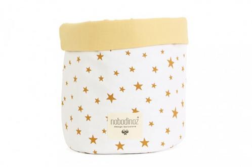 Basket Mambo Mustard Star - 2 misure