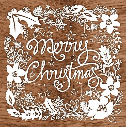 Tovagliolo Merry Christmas