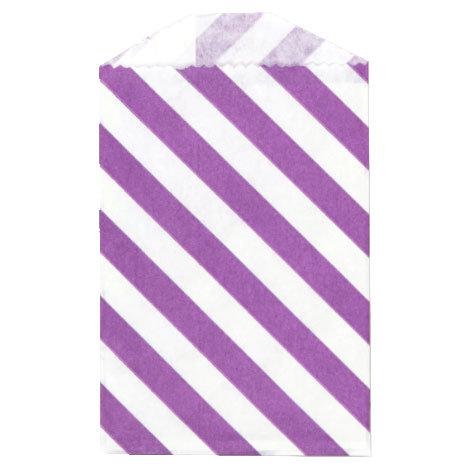 Little Bitty Bags Diagonal Purple