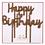 Thumbnail: Cake Topper Happy Birthday Oro
