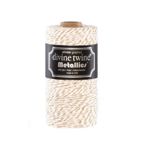 Bakers Twine Metallic Oro - mt10