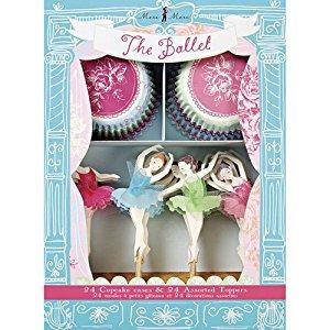 Ballet Cupcake Set