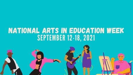 Launching Our 21-22 Programs TODAY for National Arts in Education Week!