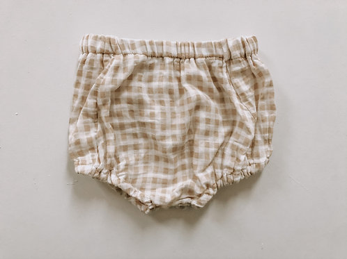 Bloomer in Cinnamon Plaid