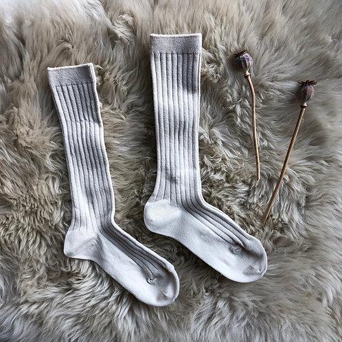 Linen Knee High Socks