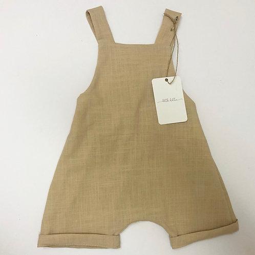 Romper, Natural Linen Cotton