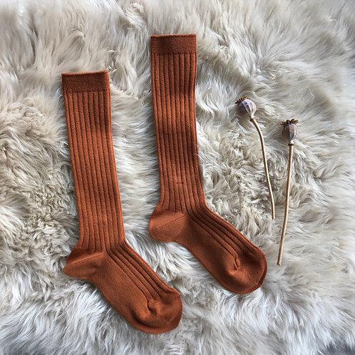 Rust Knee High Sock