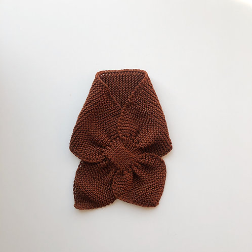 Hand knitted scarf - Ginger