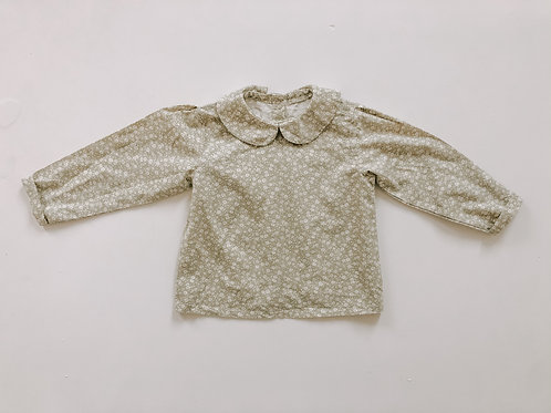 Ava Blouse in Skipping Sage