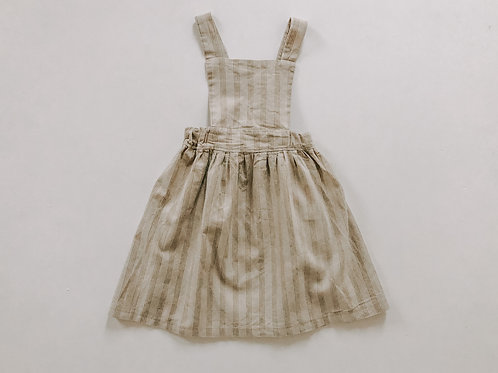 Penny Pinafore in Cats Cradle Stripe