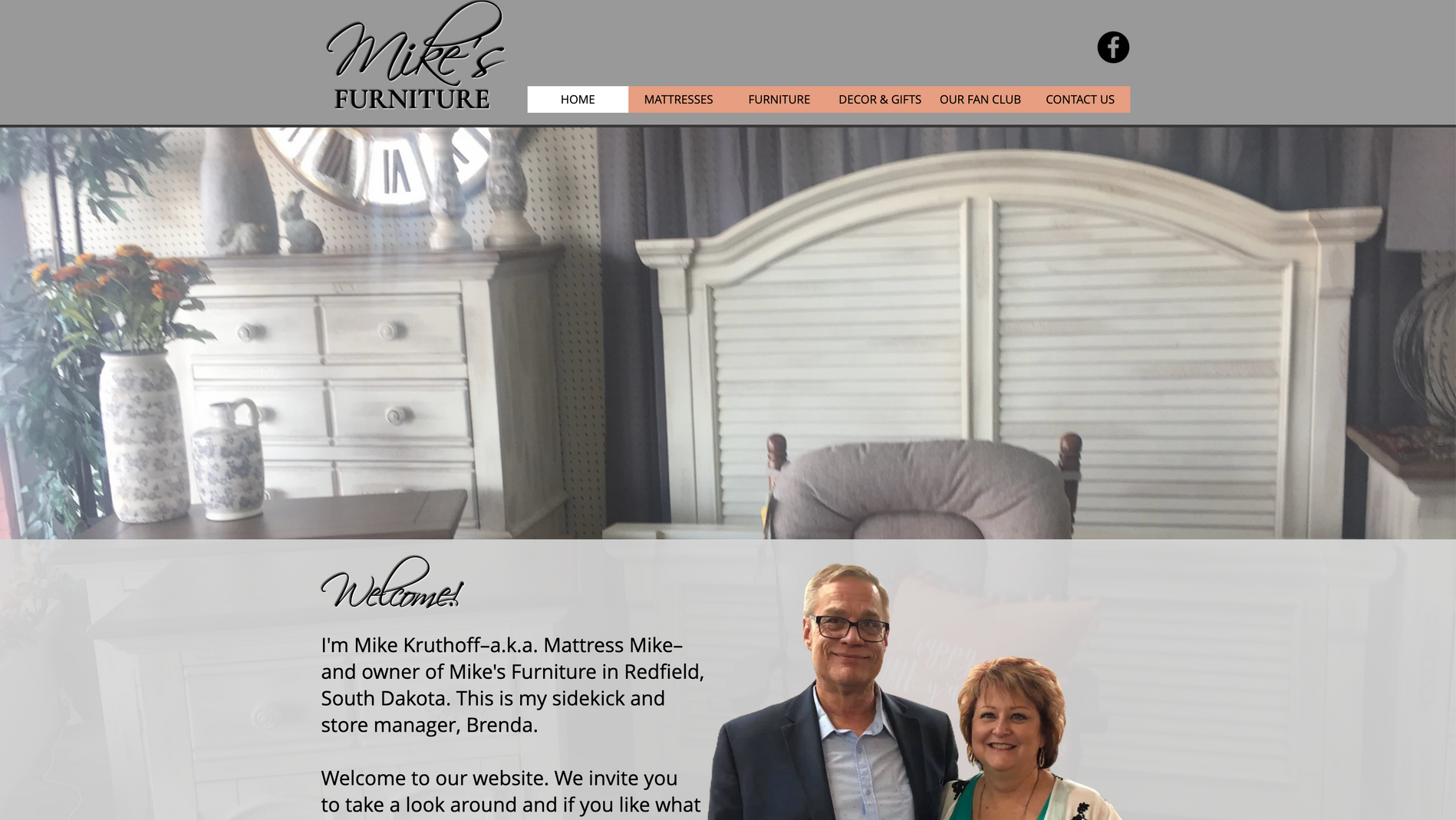 Mike's Furniture Website