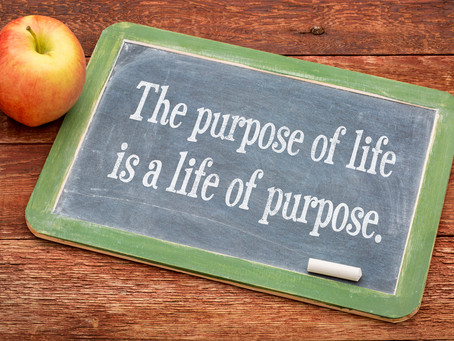 Live life on purpose!