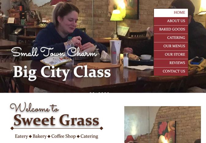 Sweet Grass Bakery Website