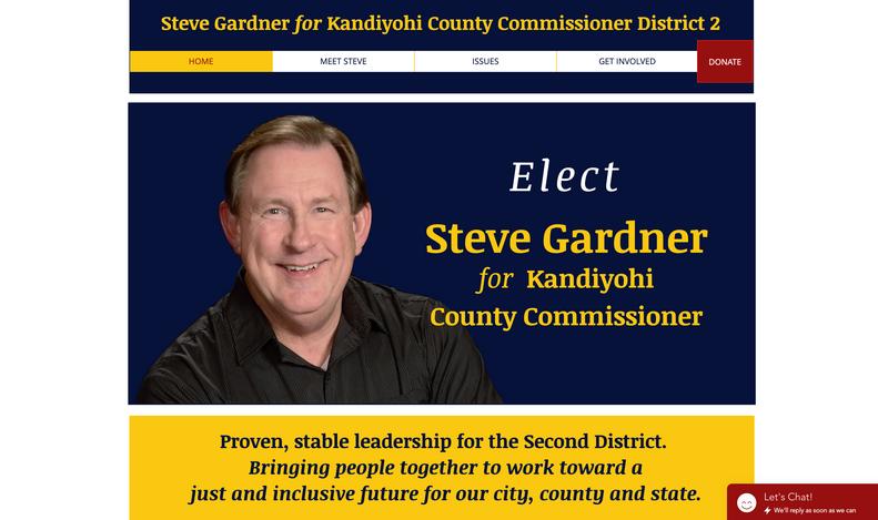 Vote Steve Gardner Website