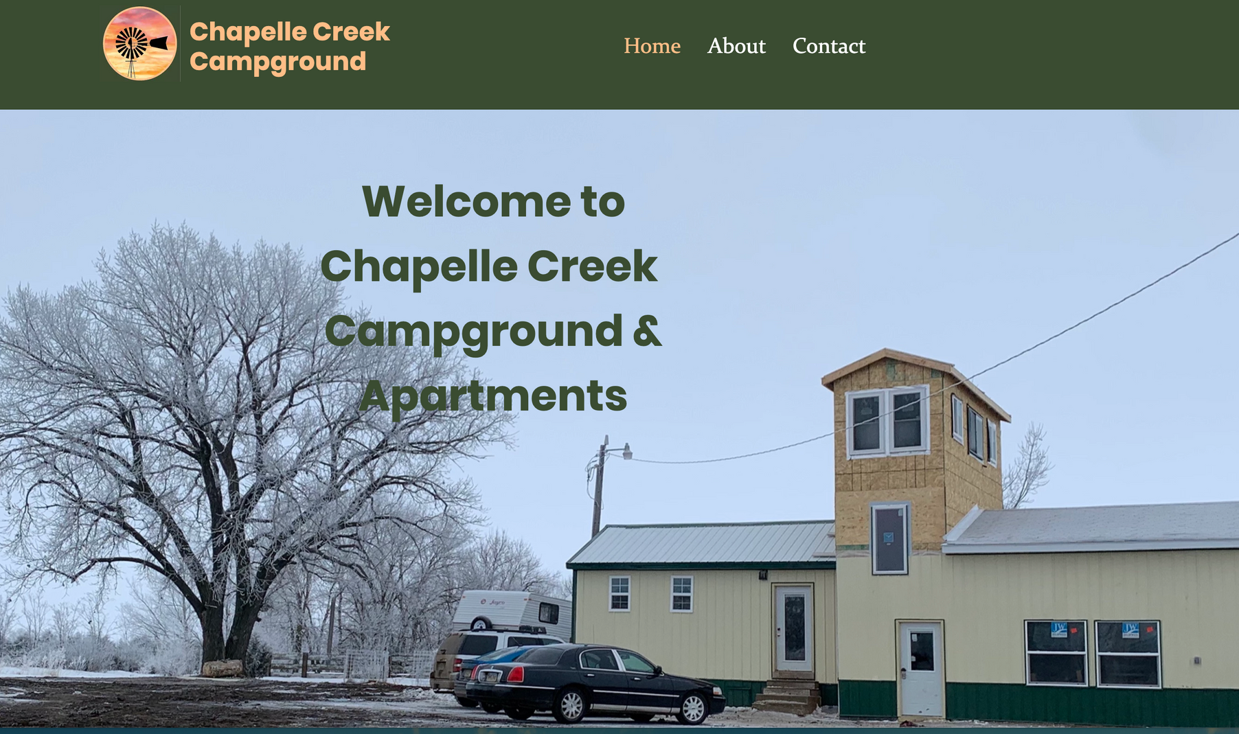 Chapelle Creek Campground Website