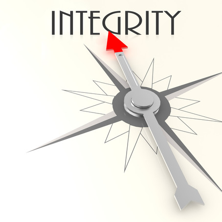 Integrity spelled out