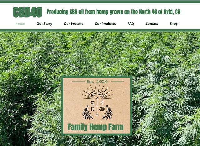 CBD40 Website