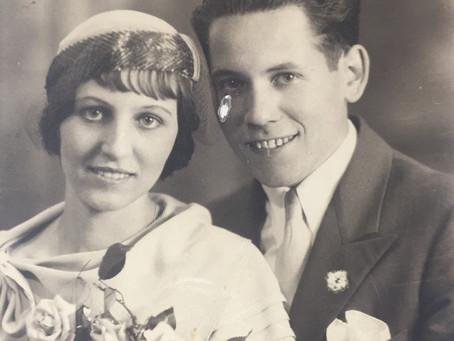 My two Irish blessings: Grandma & Grandpa Nolan