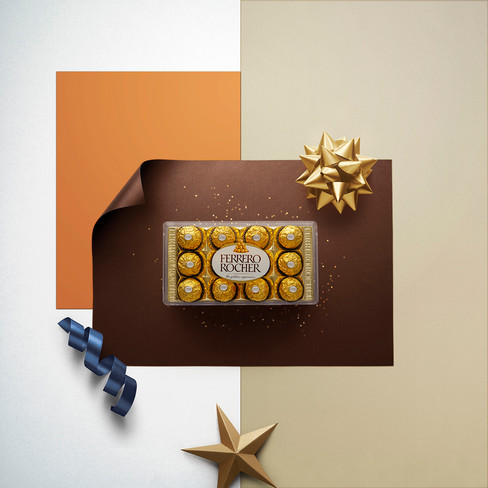 advertising Agency: SANCHO BBDO Flare Client: FERRERO ROCHER Photographer: Jonathan Manrique Nossa Bogotá, Colombia