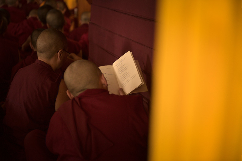 """Bodhisattva: Ser que, habiendo desarrollado la mentalidad del despertar, dedica su vida a la tarea de alcanzar la budeidad (estado de Buddha) en beneficio de todos los seres sintientes.   """"Como resultado de la virtud, permaneceré en el espacio, fragante y fresco corazón de una flor de loto, Mi fulgor será alimentado por el dulce discurso de los conquistadores, Mi forma gloriosa florecerá de un loto abierto por la luz del poderoso, Y, como bodhisattva, permaneceré en la presencia de los conquistadores""""   """"As a result of virtue, I shall dwell in the spacious, fragrant and cool heart of a lotus flower, My radiance will be nourished by the food of the conquerors sweet speech, My glorious form will spring from a lotus unfolded by the mighty one`s light, and, as a Bodhisattva, I shall abide in the presence of the conquerors""""   Shantideva / A guide to Bodhisattva's way of life VII 44"""