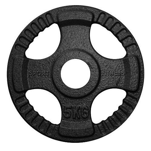 DISCOS OLIMPICOS 5KG 52MM CON AGARRE – 071167