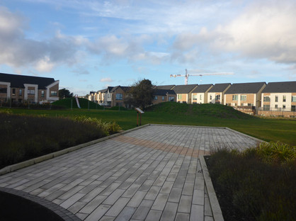 Landscaping to reflect subsurface archaeology at Portmarnock, Co. Dublin