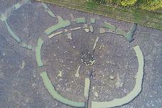 Portmarnock  aerial view of excavation i