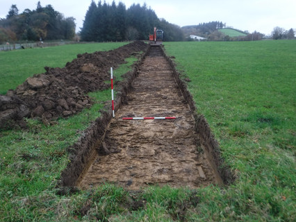 Donegal test excavation