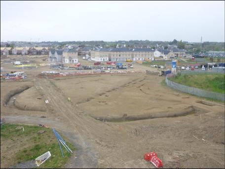 Portmarnock excavation of enclosure