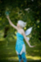 Frost Fairy Periwinkle Party Entertainment