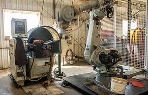 Starland Metals Motoman Robotic Arm Thre