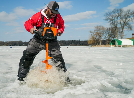 RAZR Ice Augers - General Use Tips