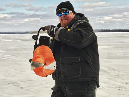 RAZR Ice Augers partners with Brian 'BRO' Brosdahl