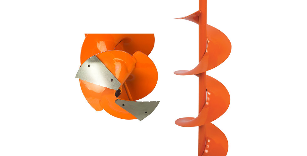 Power Auger Bit - Curved Blades