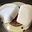 Thumbnail: SEAT FOR ROYAL ENFIELD CLASSIC WHITE  (PAIR)  After Market