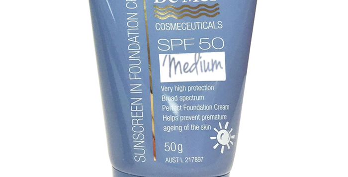 Sunscreen in Foundation Cream SPF50+ – Medium 50ml