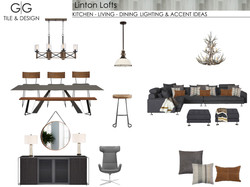 KITCHEN - LIVING - DINING LIGHTING & ACCENT PILLOWS & THROWS