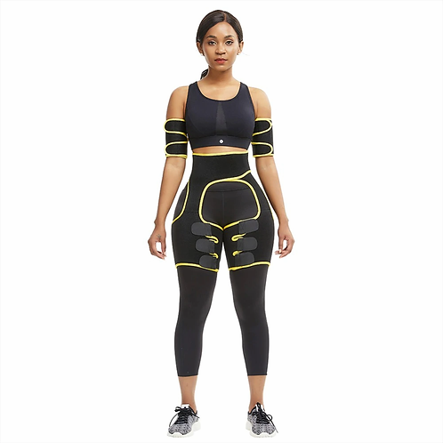 3 in 1 Waist Trainer with arm Shaper