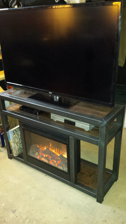 Fireplace stand