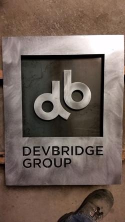 DG steel sign