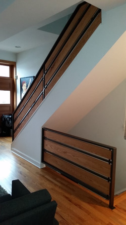 Banister and Handrail
