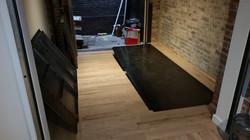 Trap door floor