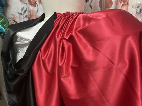 Black & Red Rococo Dress