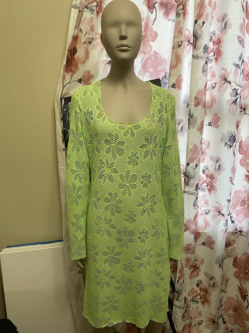 Green Knit Dress