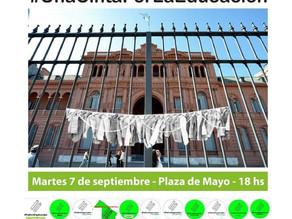 A las 18hs, en Casa Rosada: una cinta por la educación