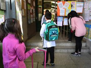 El lunes volverán las clases presenciales en jardines y primarias de la Ciudad de Buenos Aires