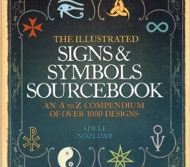 A Writer's Bookshelf:  The Illustrated Signs & Symbols Sourcebook, by Adele Nozedar