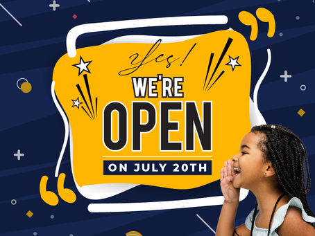 YES! WE'RE RE-OPENING