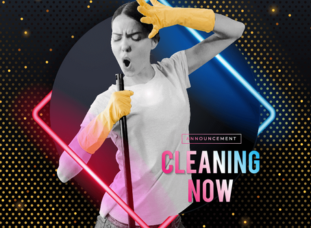ANNOUNCEMENT FOR CLEANING