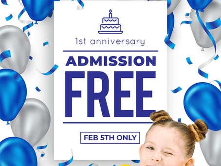 FREE ADMISSION ON 5TH FEB